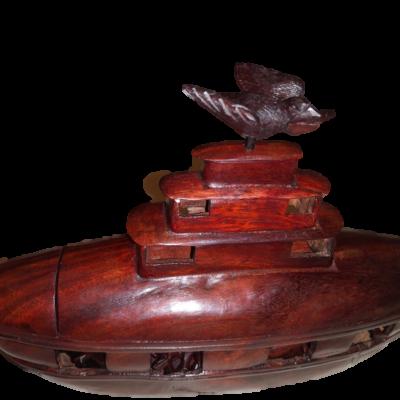 Weergave Ark groot met duif